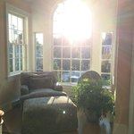 Sun drenched hallway lounge 2nd floor