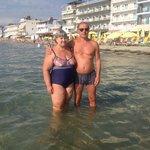 Паралия Катерини. Пляж (песчаный) и чистое море