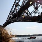 Forth raill Bridge form underneath!