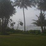 View Across Hotel Gardens towards Columbo