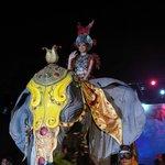 Театральное 3D световое шоу в парке около слон-горы