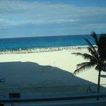praia bonita e calma