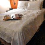 Comfortable, cozy room with queen bed