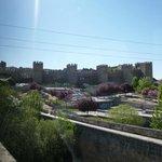 Jardins externo e Muralhas de Ávila