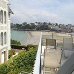 de la terrasse vue sur plage