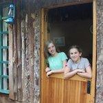 front door to our cabin