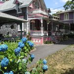 Oak Bluffs Campground Gingerbread Houses