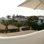 Panoramic view from room Naxos