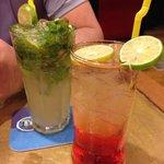 mojito and campari soda