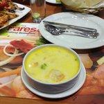 суп из морепродуктов фарес....