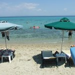 The beach (Very hot)