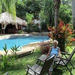Cousin Nancy at Villas Kalimba