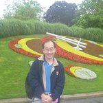 At the Flower Clock