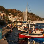 the lovely harbour of Poros town
