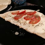 Tomato & Cheese Crepe