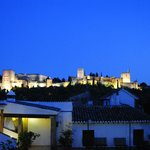 View of the Alhambra from Carmen de Aben Humeya terrace