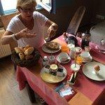 Breakfast op de Afrikakamer
