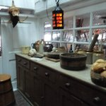 The Galley on HMS Victory