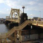 Bridge entering the park