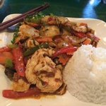 Pad Krapow Chicken