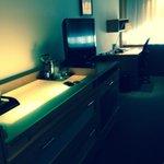 Dresser, TV and Desk