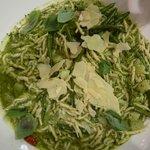 Pasta med grøn pesto