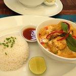 Khmer chicken curry