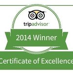 We are proud to be Winner of Excellence in 2014 and 2013