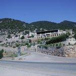 Vue de la propriété depuis le plateau d'Askyfou