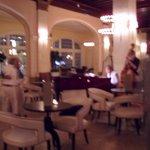 Lobby/Bar area with musicians.