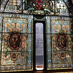 stained glass for the queen