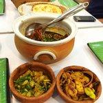 Jaffna Crab curry, Hathmaaluwa (Vegetarian), Isso Beduma