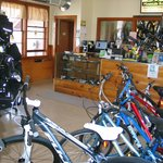 Plenty of bikes for the whole family to choose from.
