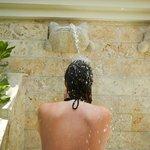Dusche am Royal Service Strand