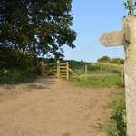 coast path access from site
