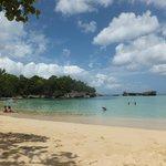 Laguna Gri Gri and the beach