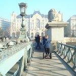un des ponts sur le Danube