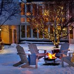 Courtyard Winter