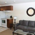 Full Suite Living Area