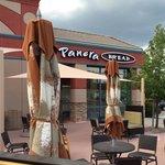 Panera's patio