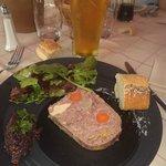 Chamonix Mountain Terrine and Blond Beer :)
