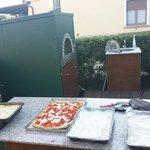 Cena Elbana - pizze e lasagne
