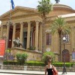 Frente & Cúpula del Teatro Massimo