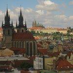 Utsikt mot Prague Castle