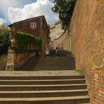 Trappene opp til Prague castle