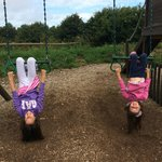 The play area, our girls had lots of fun!