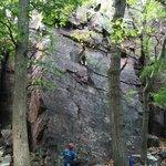 West Bluff climbing