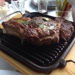 Excellent T-Bone steak, for 2 persons!
