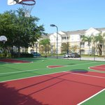 Newly resurface basketball courts (June 2014)