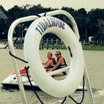 Jet skiing with my bff